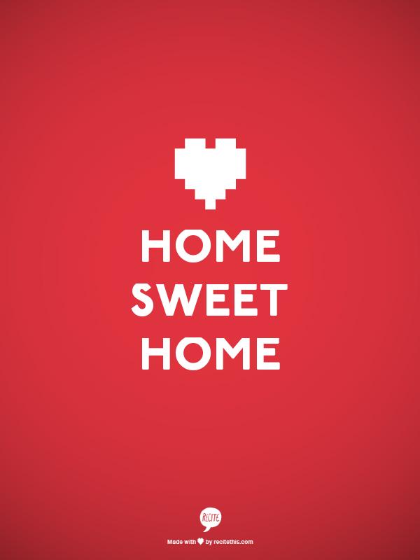 Home sweet home. Image source: Recite.com