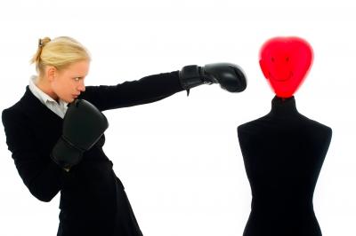 Women with boxing gloves. Image source: Ambro, Freedigitalphotos.net