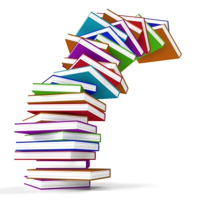 Multicolorored stack of books. Image source: Stuart Miles, Freedigitalphotos.net