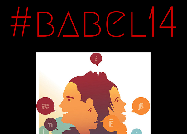 Logo for the Day of Multilingual Blogging 2014. Image source: euonym website