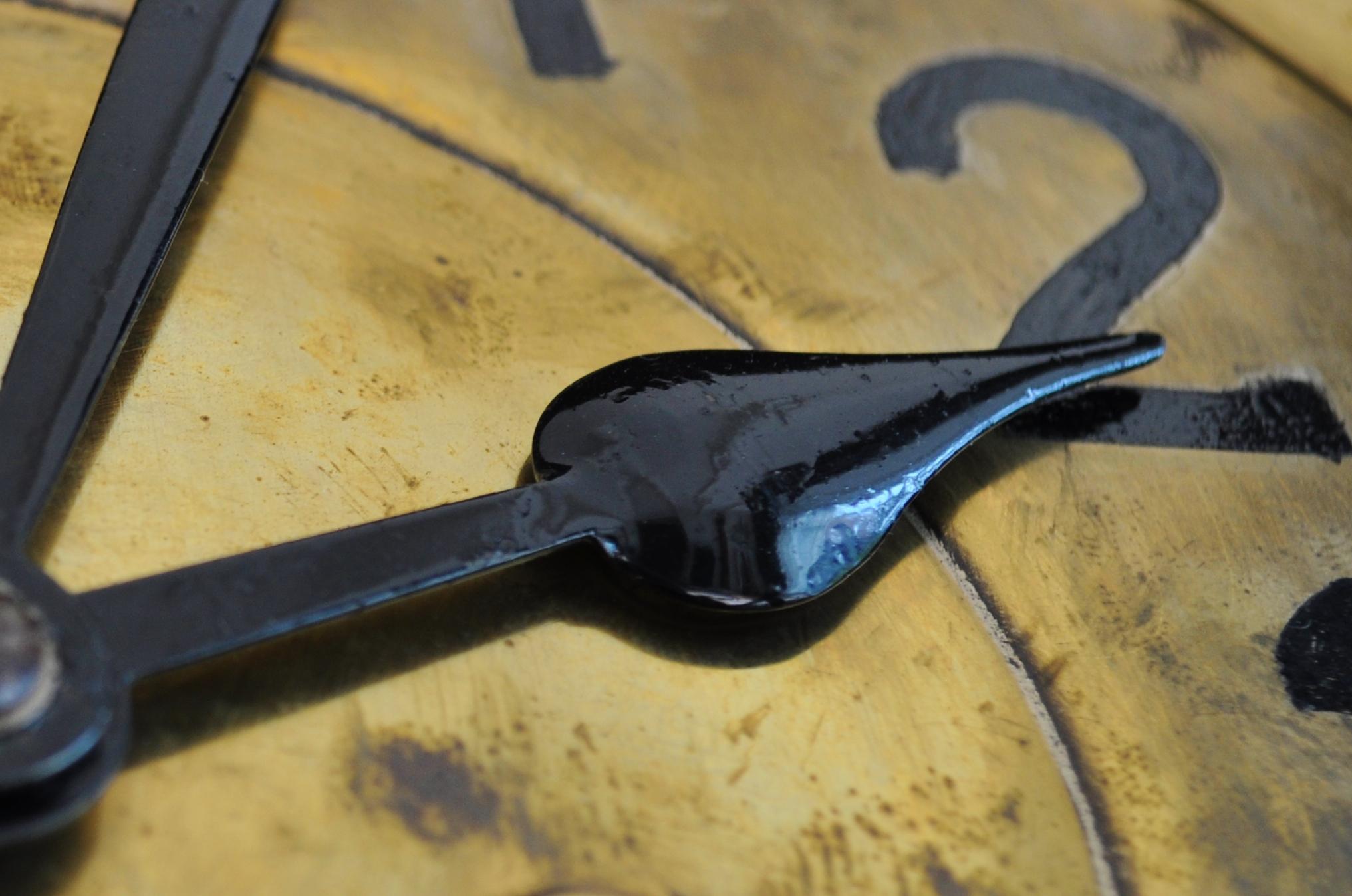 Uhrzeiger. Bildnachweis: skitterphoto.com
