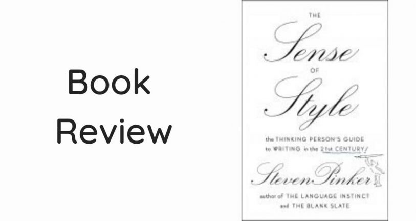 Book review Sense of Style