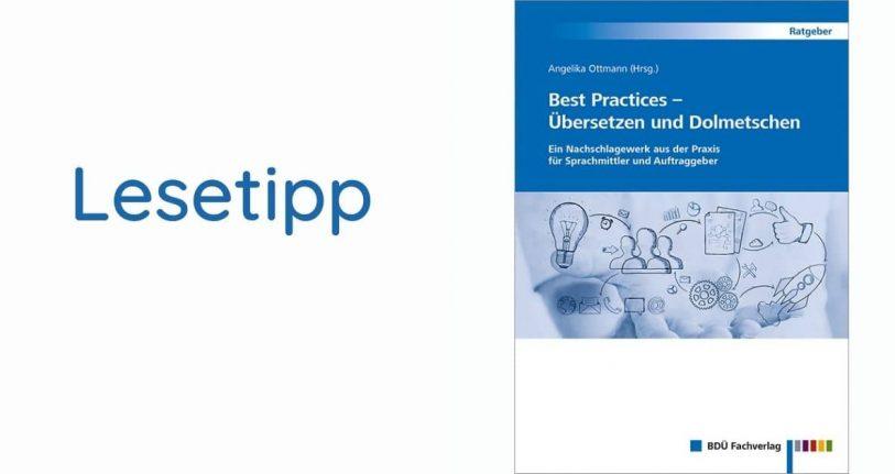 Buchbesprechung Best Practices: Übersetzen und Dolmetschen
